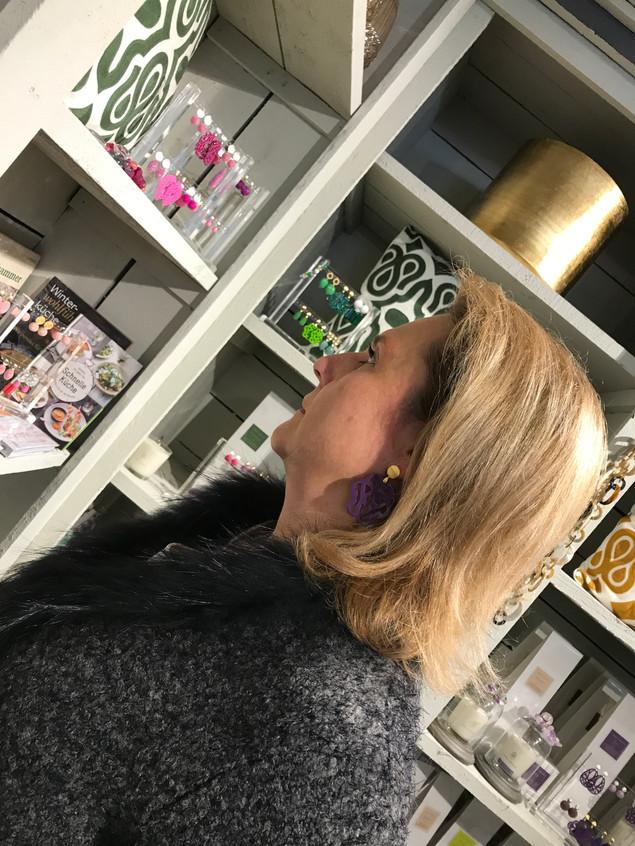 Ohrringe aus Horn 95 EUR