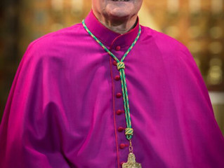Right Reverend Patrick Joseph McKinney Bishop of Nottingham send his prayers and good wishes to Rosa
