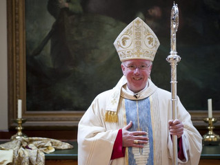 Words of support and blessing from Bishop Philip Egan, Bishop of the Diocese of Portsmouth