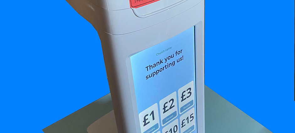 Contactless Donation Machine