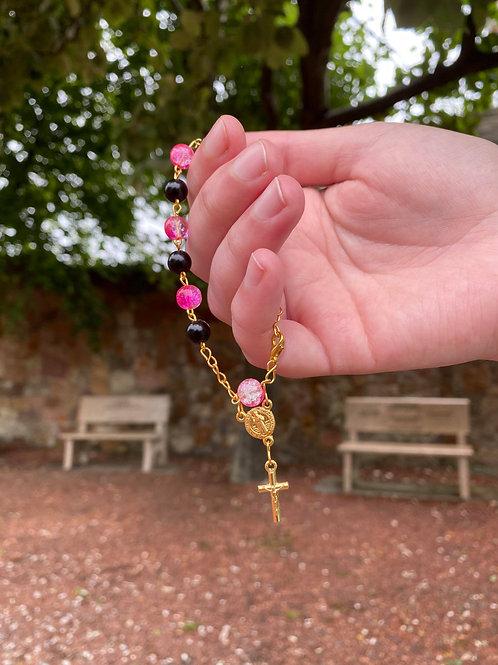 Custom Handmade Rosary Bracelet