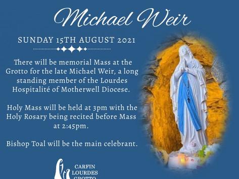 Memorial Mass for Michael Weir