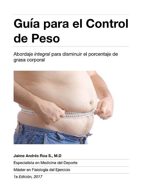 Guía para el Control de Peso