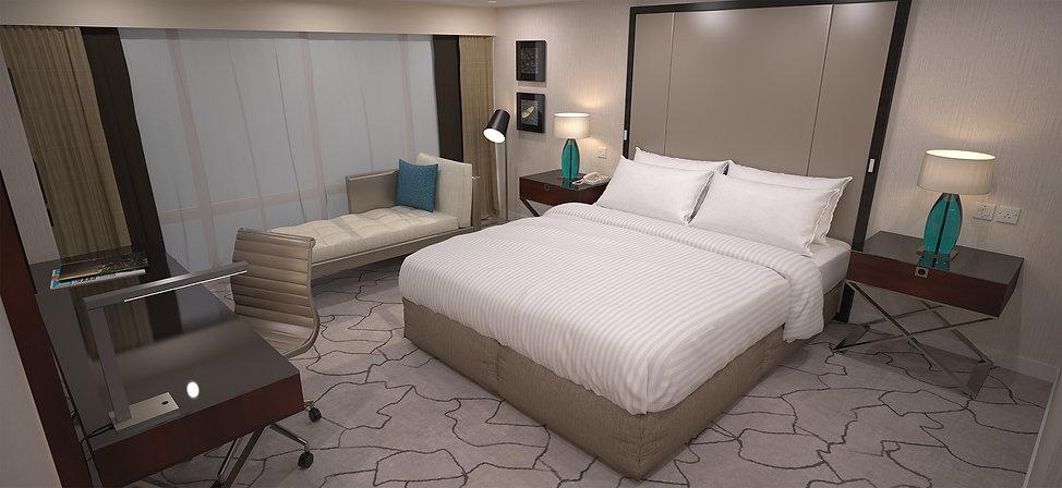 Guestroom Photo-realistic Rendering