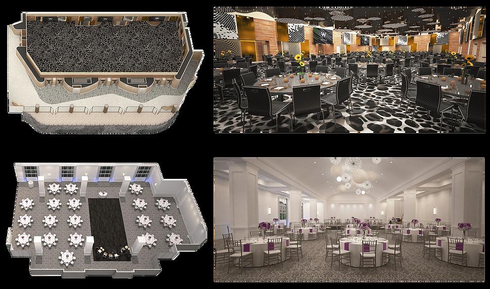Floorplans & Eye-level Renderings