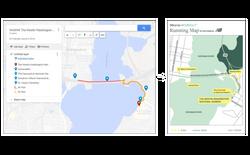 Westin Running Map