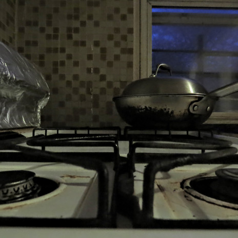 The stove belongs to my mother.