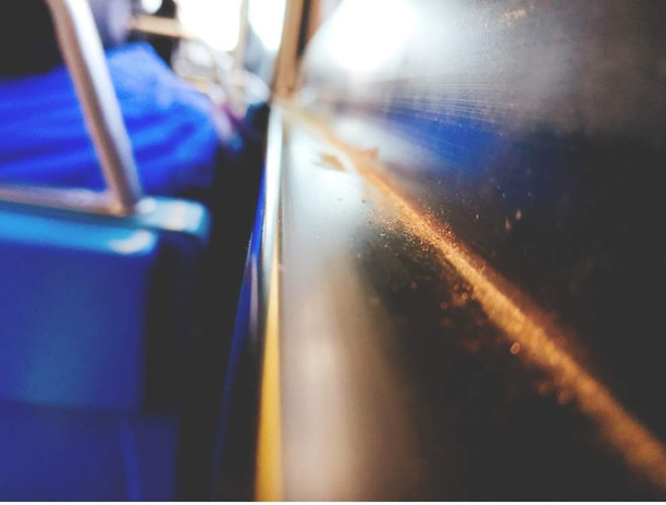 Dust on the bus