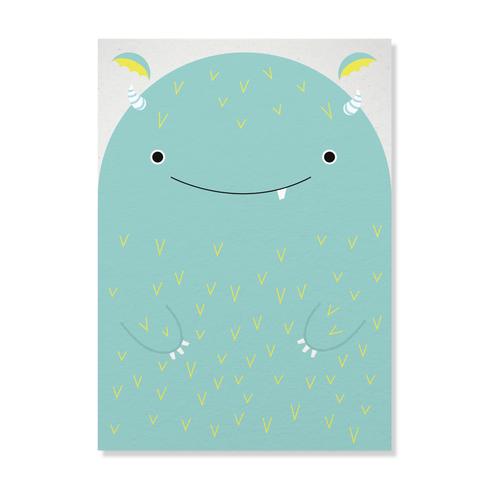 "Postkarte ""Monsterlich"""