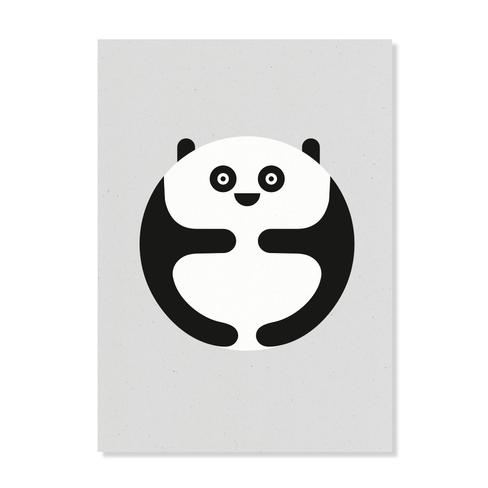 """Postkarte """"Panda"""""""