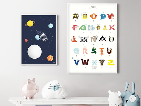 Weltraumrakete-Poster-edith-schmuckes-pa
