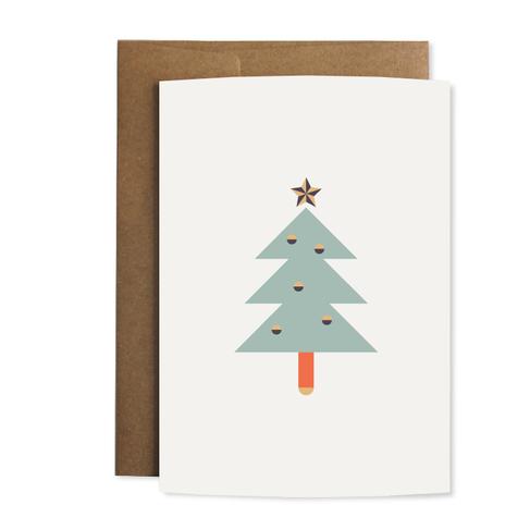 """Grußkarte """"Tannenbaum"""""""