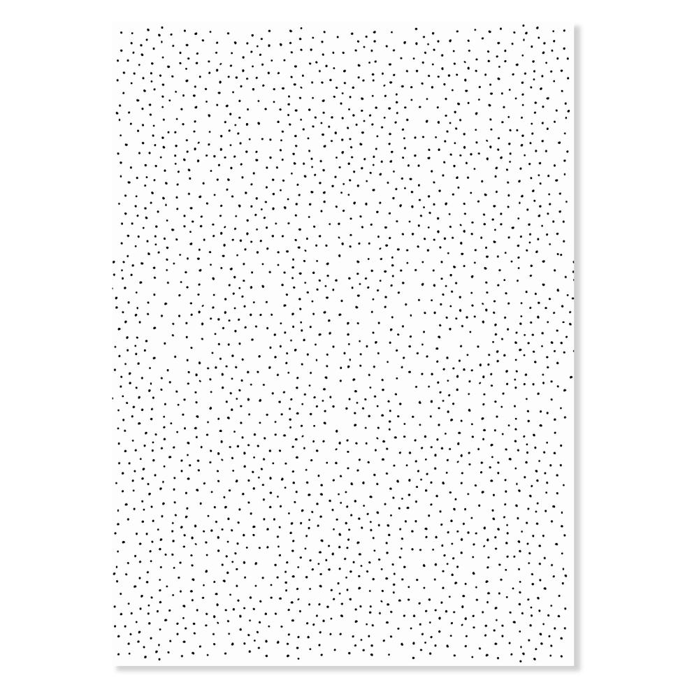 """Geschenkpapier """"Dots schwarz"""""""