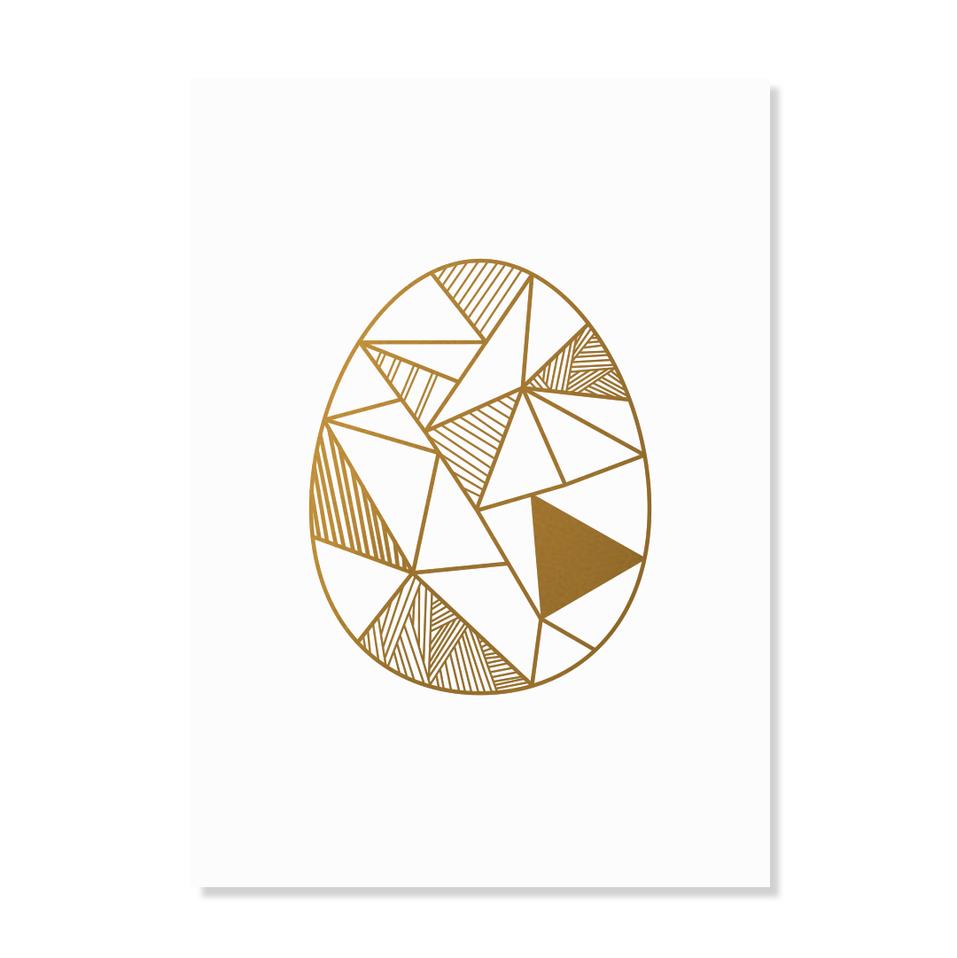 """Postkarte """"Goldeneye"""""""