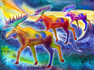 Fabric Art Panels - Animals