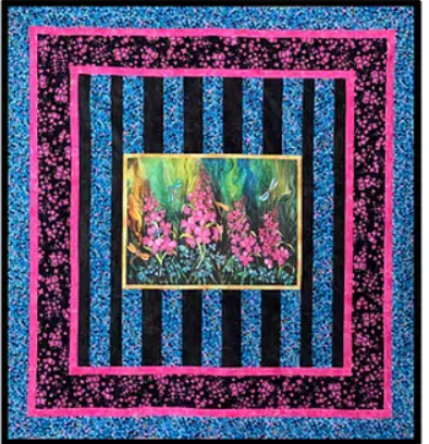 """Fireweed Nostalgia"" Quilt Pattern"