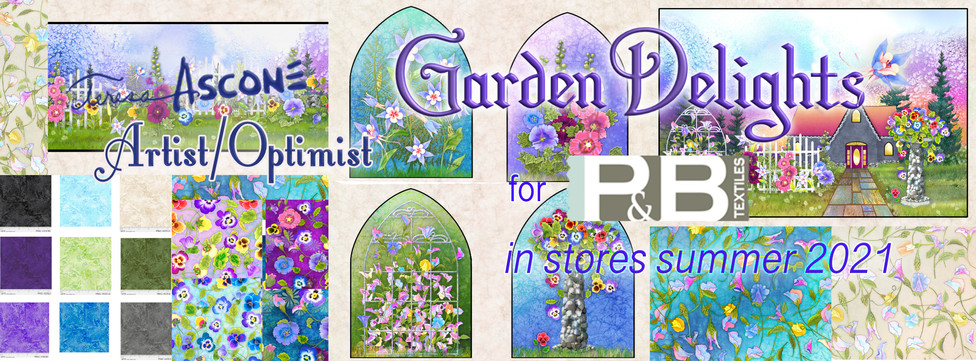 Garden Delights Fabric