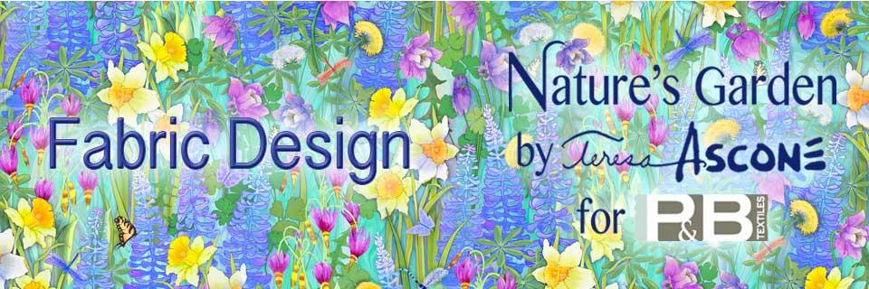 Nature's Garden Fabric