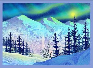Fabric Art Panels - Alaska