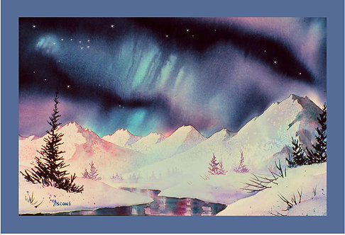 """Big Dipper"" Fabric Art Panel"