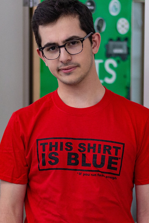 This Shirt Is Blue
