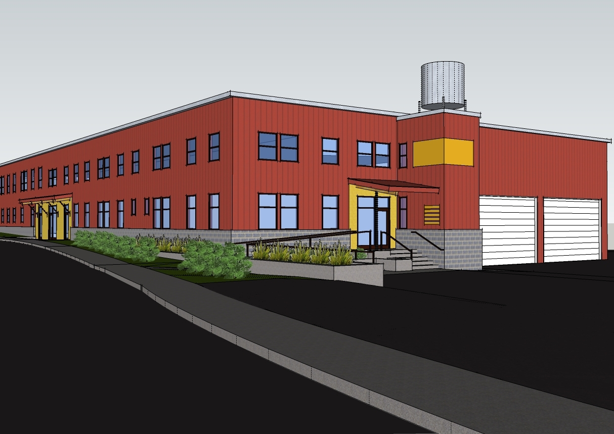 New Warehouse artist rendering
