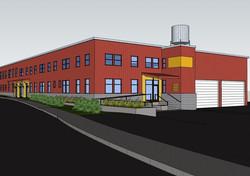 New Warehouse artist rendering