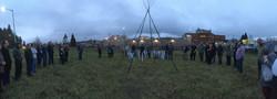 Ground Honoring ceremony