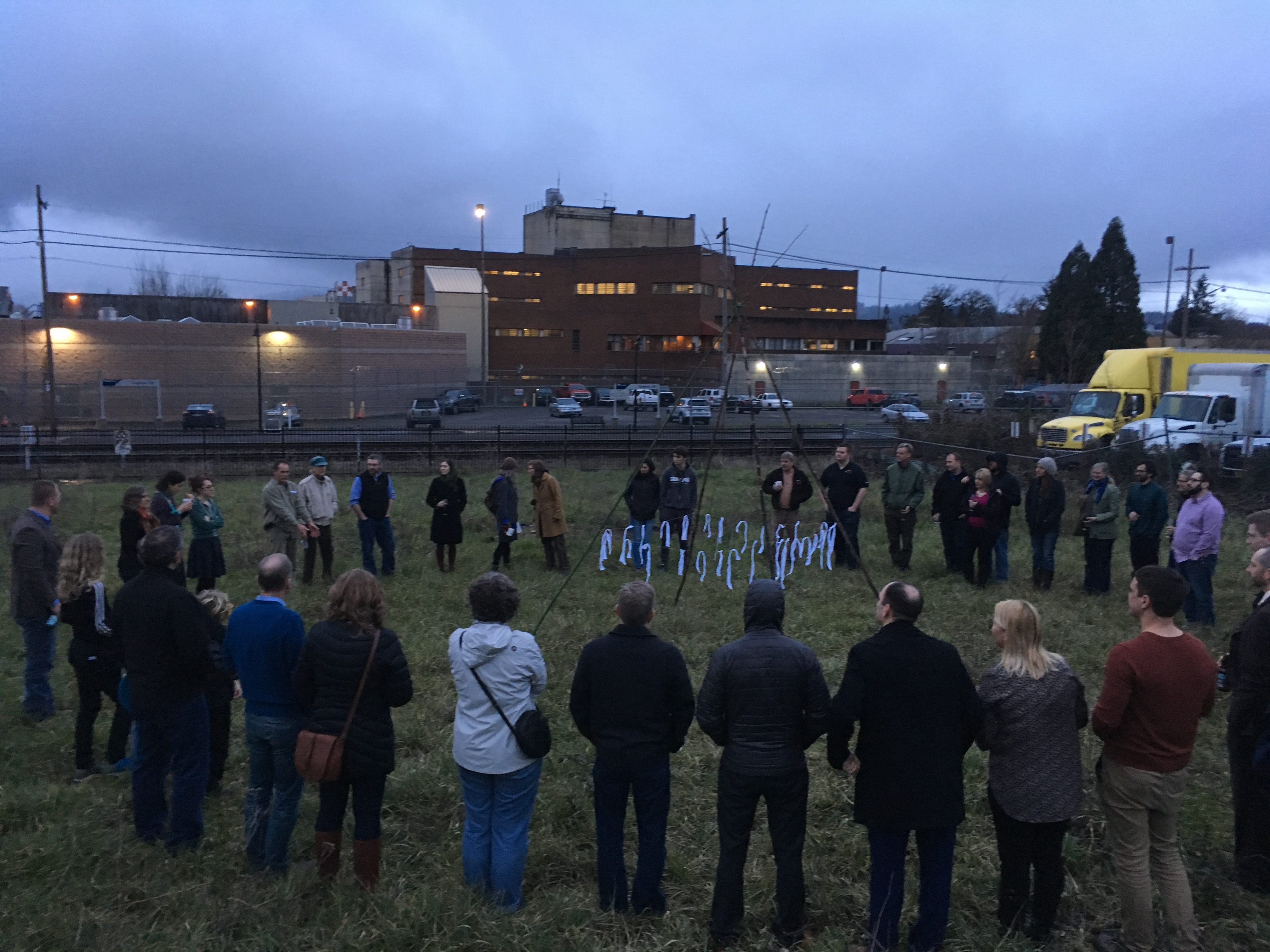 Ground Honoring ceremony 2