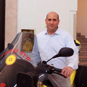 Alon Friedman, CFO del Magen David Adom