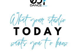 What Your Studio Wants You To Know TODAY