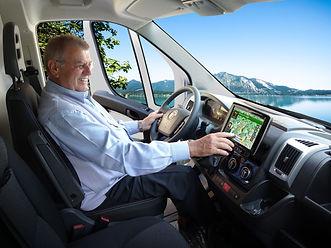 Navigation Reisemobil Alpine