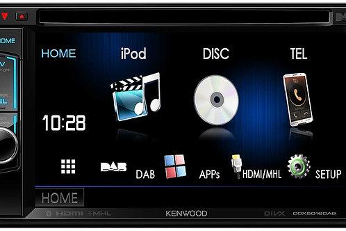 Kenwood DDX5016BT Front