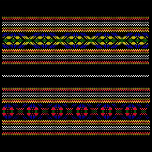 Hoa văn vector MẠ 014