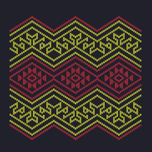 Hoa văn vector MẠ 034