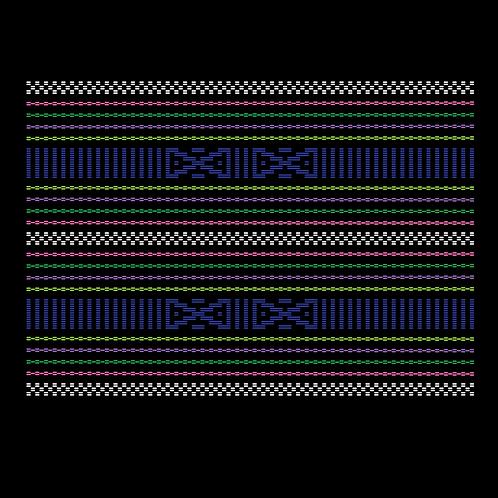 Hoa văn vector K'HO 026