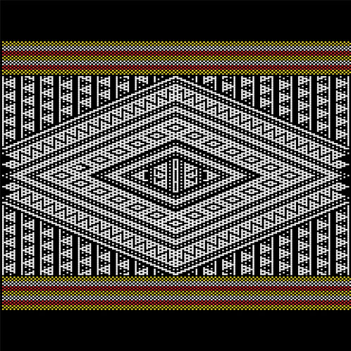 Hoa văn vector MẠ 016