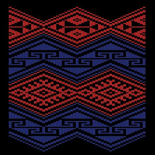 Hoa văn vector MẠ 021