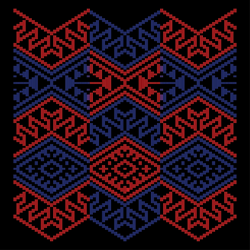 Hoa văn vector MẠ 031
