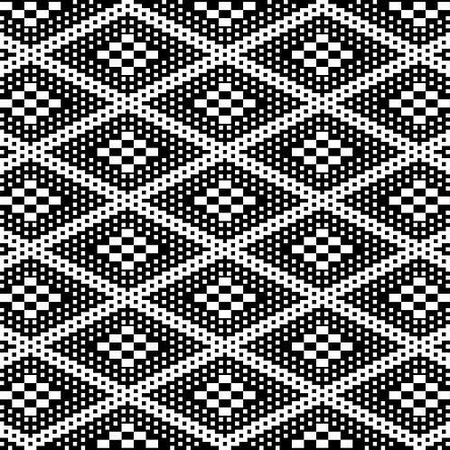 Hoa văn pixel K'HO 007
