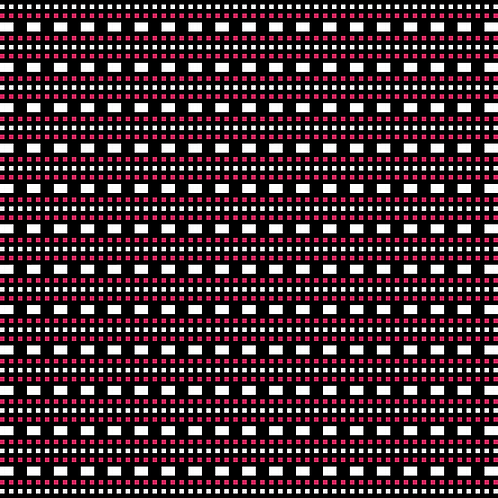 Hoa văn pixel K'HO 027