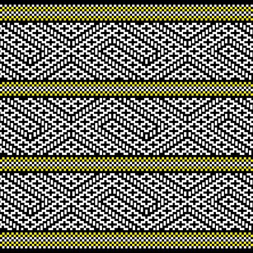 Hoa văn pixel K'HO 008