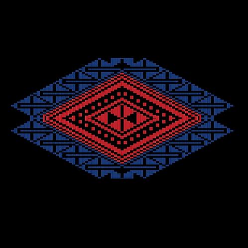 Hoa văn vector MẠ 019