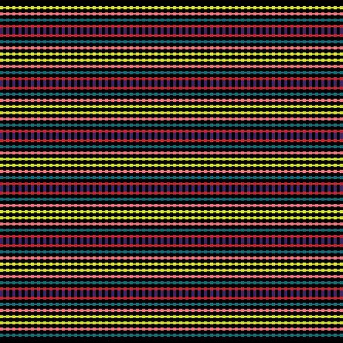 Hoa văn pixel MẠ 035