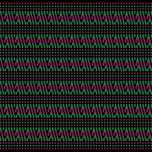 Hoa văn pixel MẠ 037