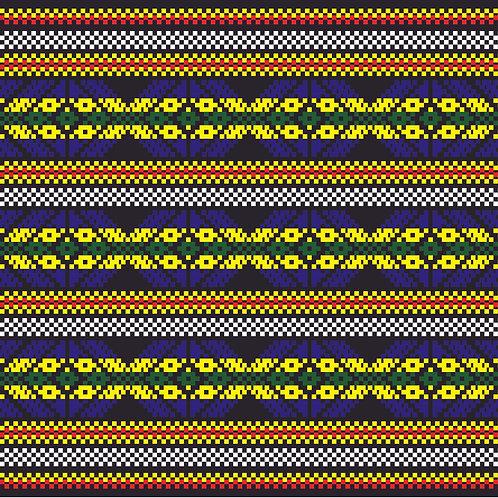 Hoa văn dân tộc pixel 002