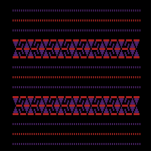 Hoa văn vector MẠ 038