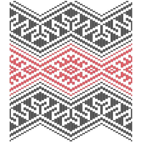 Hoa văn vector MẠ 028