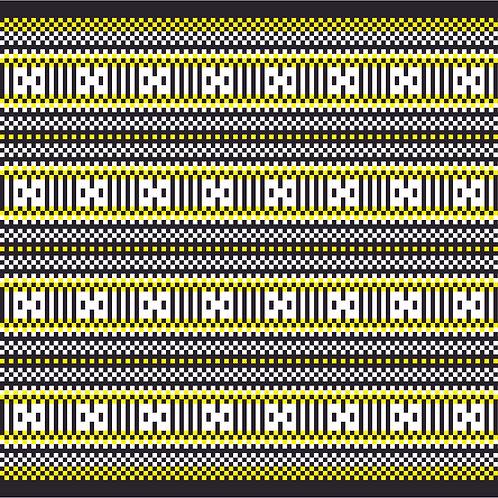 Hoa văn dân tộc pixel 004