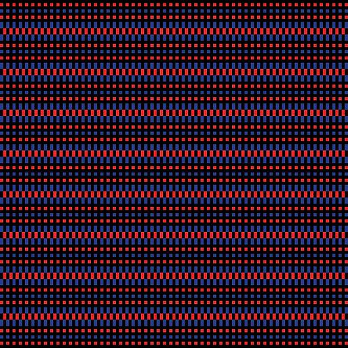 Hoa văn pixel MẠ 036